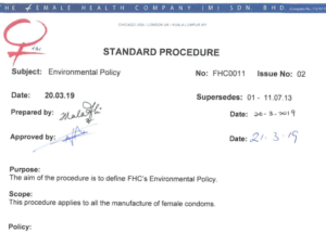 FHC Environmental Policy thumb