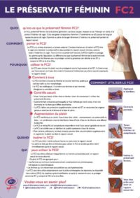 FC2 Instruction Poster French