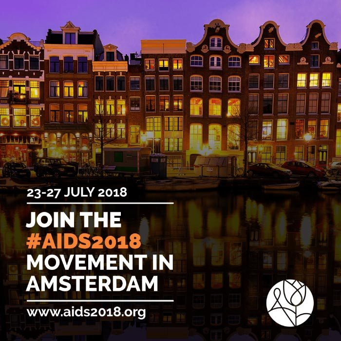 International AIDS Conference in Amsterdam