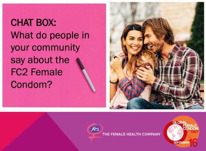 Global Female Condom Day 2019